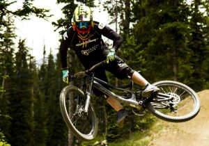 Outdoor summer activities and mountain biking in Winter Park Colorado
