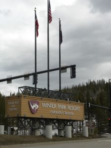 Winter Park Resort Entrance