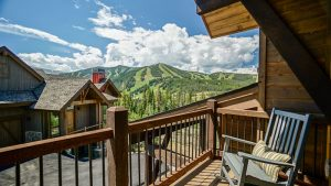 Rental property in the rocky mountains